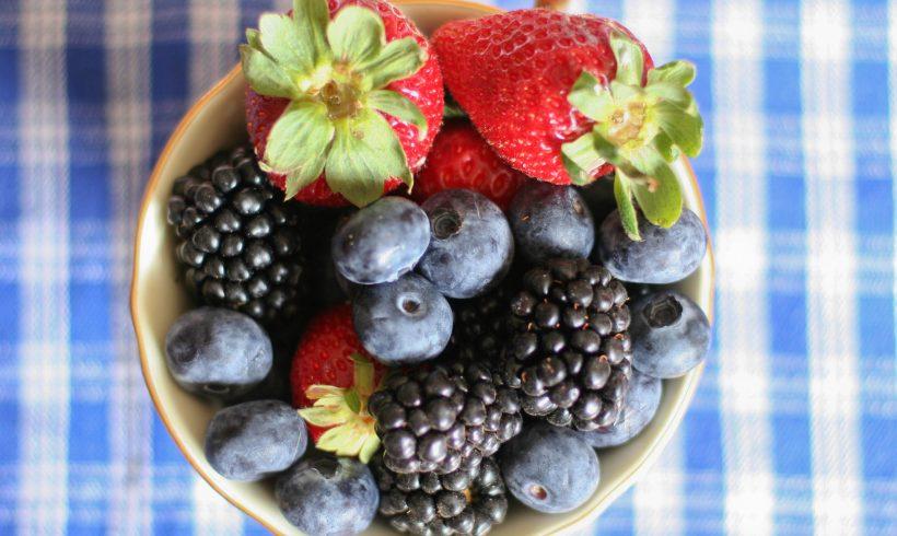 Berries, berries, berries.