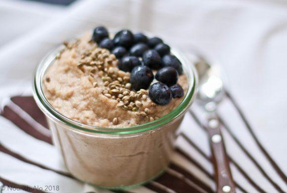 Cauli-coconut N'oatmeal