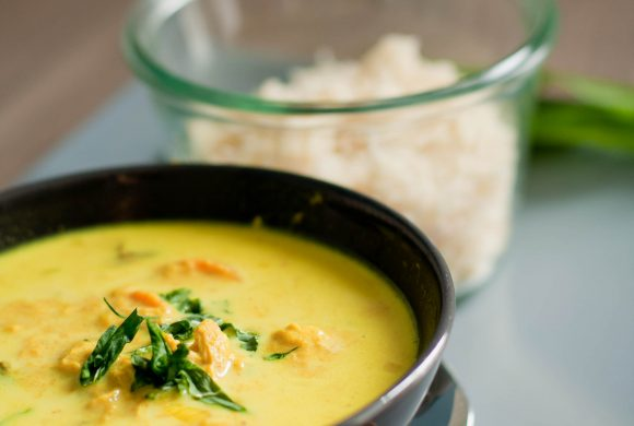 Recipe: (slow cooker) Coconut Chicken Curry